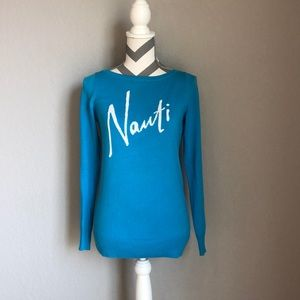 Lilly Pulitzer Nauti Blue Sweater